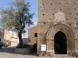 The entrance of the building (former church) where the 'Understanding Community Conservation in Europe' took place.