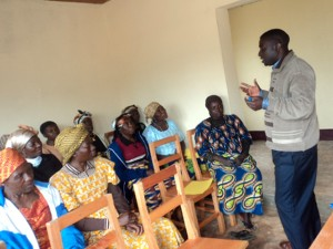 Agroforestry training for peasant women.