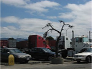 As one of my field sites, West Oakland, California, confronts multiple environmental risks from activity at the Port of Oakland.