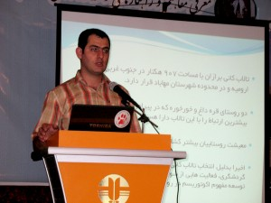 "Inception workshop of the first ""eco-village"" project in Iran, as the coordinator of the project (2010)"