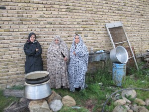 Alternative livelihood project for local communities aromatic water extraction.