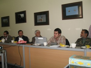 Facilitating Lake Quri Gol (Ramsar Site) participatory management planning workshop (2010)