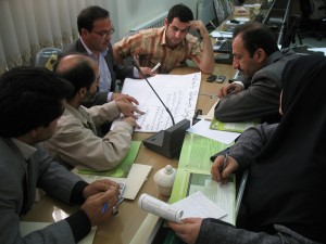Facilitating water share allocation for the Lake Urmia basin, Iran (2009)