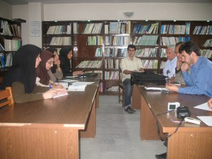 Planning meeting of public awareness activities for Lake Urmia Basin with the NGOs.