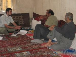 Meeting with local communities around Lake Parishan, Iran for alternative livelihoods (2008)