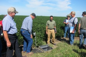 A field day in Central Illinois, where university faculty and conservation groups demonstrated agricultural practices that mitigate the impact of industrial agriculture on the soil and water.