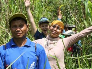 Creating a Biodiversity Inventory with Dayak Limbai indigenous peoples, Bunyau district, West Kalimantan, Indonesia.