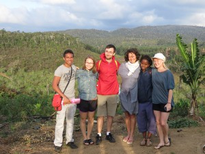With my research team in Madagascar in 2014.