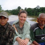Three-day canoe trip with the Matis community to reach their village in Amazonas, Brazil.