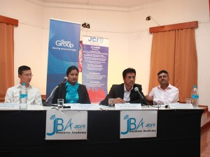 Serving as JCI PL Business Forum Moderator. Theme: Sustainability Reporting.