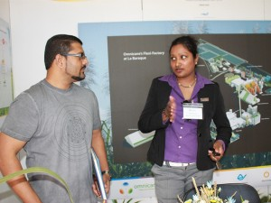 Participating in the World Environment Day Expo 2014.