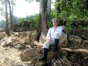 Delicia Pino Garay - in the field 1