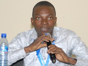 "Giving a speech on ""Climate Change and Migration in Western Africa"" at the International Climate Change and Population Conference in Africa (CCPOP 2014) held at the University of Ghana, Accra, 22–25 July, 2014."