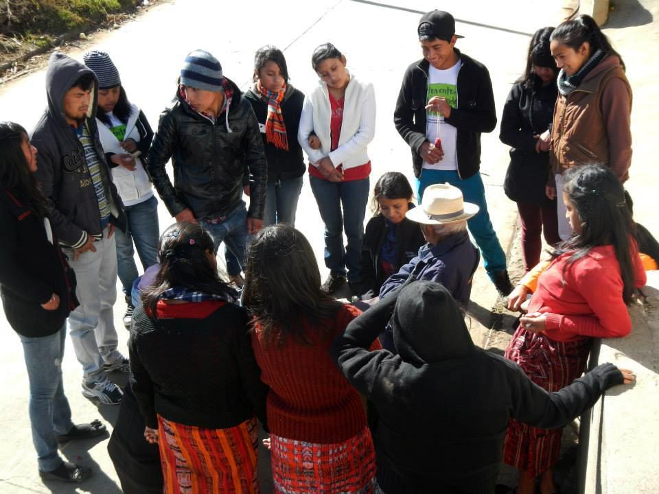 Chirijquiac, Cantel, Quetzaltenango, Abuelo Kiche, actividad de viajeros en el tiempo